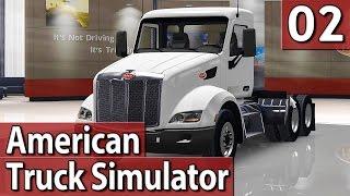 American Truck Simulator #2 EINPARK-DESASTER PlayTest deutsch