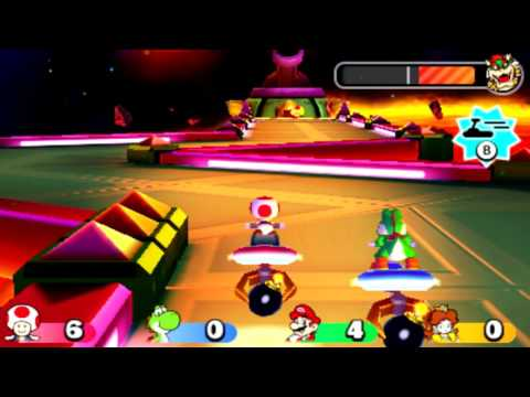 Mario Party Star Rush - Bowser's Space Race