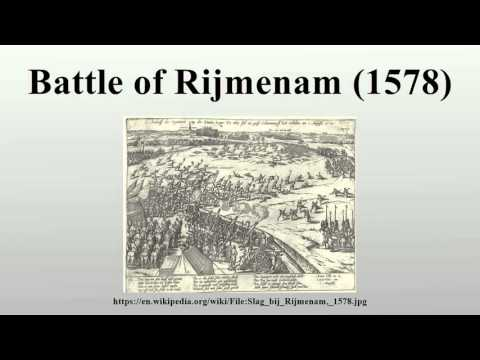 Battle of Rijmenam (1578)