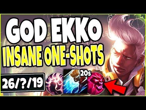 GOD EKKO 1000IQ JUNGLE BUILD 🔥 BEYOND BROKEN INSANE ONE-SHOTS 🔥 Jungle Ekko s9 League Of Legends