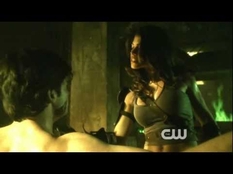 Smallville  S10E08  Granny Goodness and The Furies torture Clark