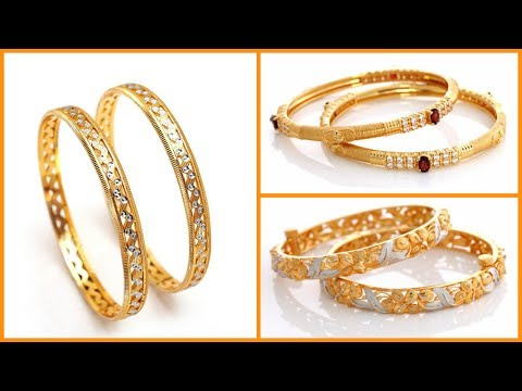 4d4ca72c39306 Light Weight Gold Bangles Designs Under 20 Grams - YouTube