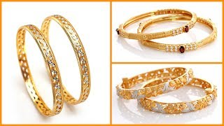 Light Weight Gold Bangles Designs Under 20 Grams
