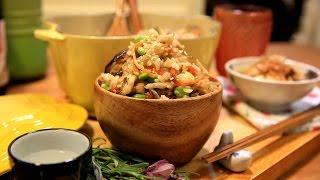 【蘿潔塔的廚房】美味的五目炊飯~一鍋到底,簡單上菜~