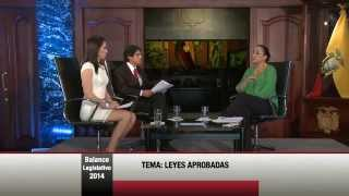 Balance Legislativo 2014 - Parte 1