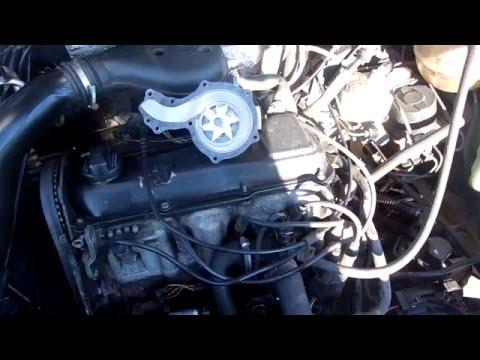 Замена водяной помпы Volkswagen Passat B4