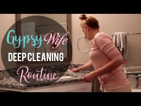Gypsy House Wife Deep Cleaning Routine | Gypsy Wife Life