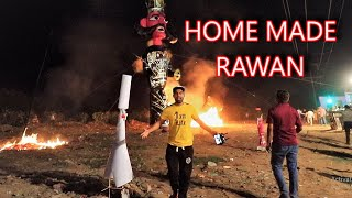 Yeh Rawan Khud bnaya aur popat ho gya 😱 - Dussehra Gone Wrong