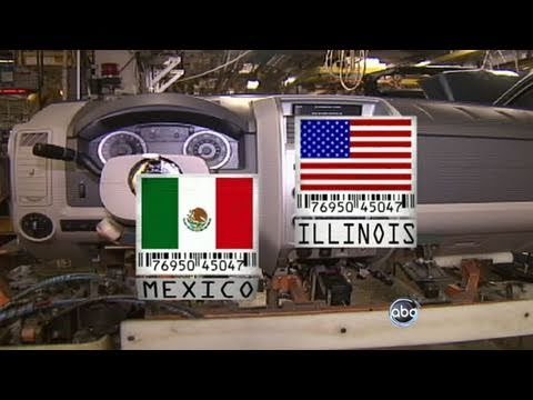 Car Parts: Which Are 'Made in America'?   David Muir