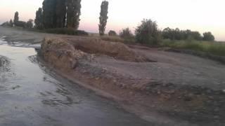 Отрезок дороги на трассе Кировоград-Николаев