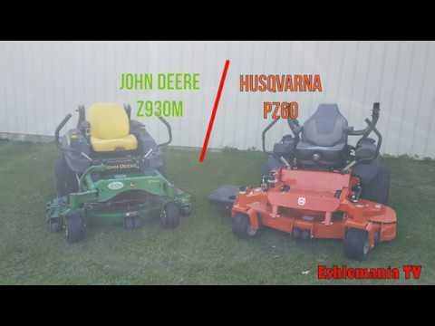 John Deere Z930M vs Husqvarna PZ60