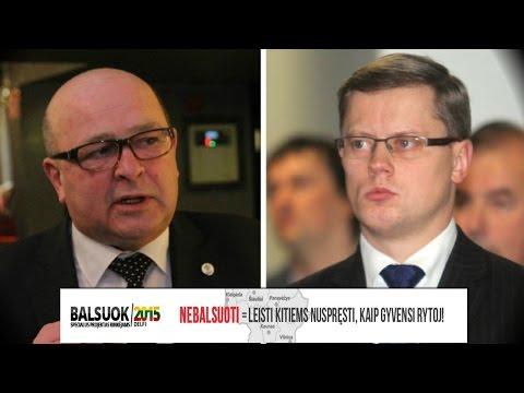 Kandidatai į Kauno merus debatai – Visvaldas Matijošaitis prieš Andrių Kupčinską