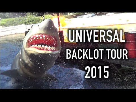Universal Studios Hollywood | Backlot Tour | August 2015