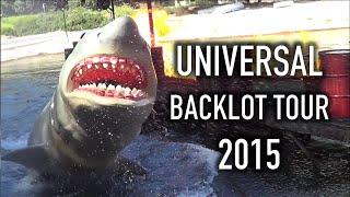 Universal Studios Hollywood | Backlot Tour | August 2015