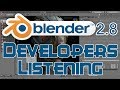 Blender 2.8 UI Changes From Feedback to