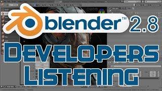 Blender 2.8 UI Changes From Feedback to Devs