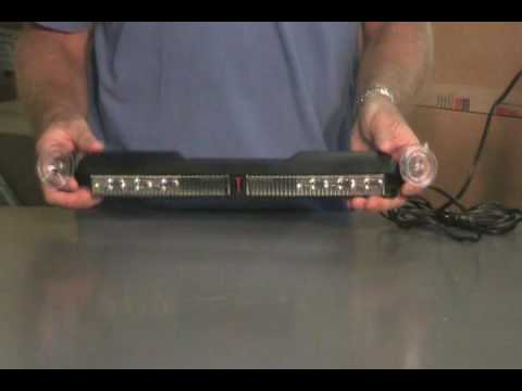 Model# NT163791 Whelen SlimLighter Super-LED Lightbar Red//Blue
