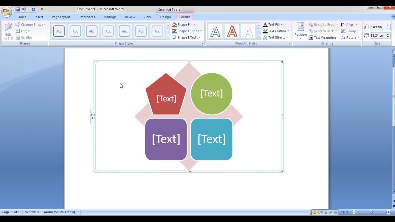 How to edit smartart in word and powerpoint 2007 youtube how to edit smartart in word and powerpoint 2007 ccuart Gallery