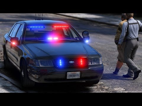 [GTA-LSPDFR] L.A.P.D Detective | Los Angeles Police Department #1
