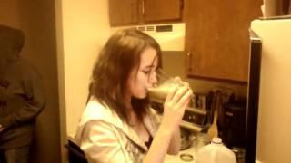 She Tried Wilbur's Revenge Bbq Sauce.