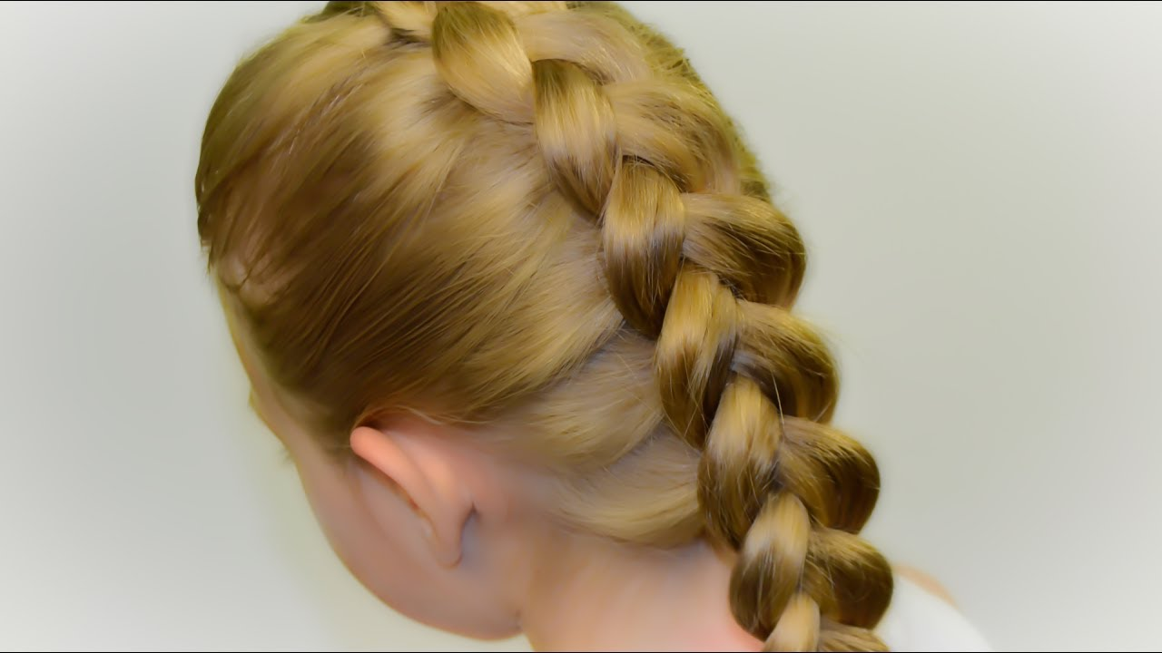Inverted French Braid  Diy Tutorial! Quick Hairstyle  #35