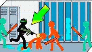 ОСВОБОДИЛ ПОДПИСЧИКА ИЗ ПЛЕНА - Anger of stick 5  zombie # 2