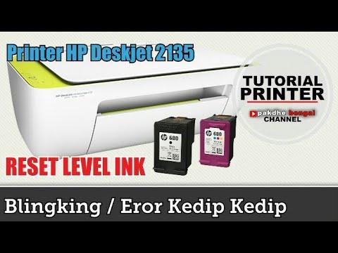 Printer HP DeskJet Cartridge Error Not recognize   HP Deskjet cartridge light is blinking   HP deskj.