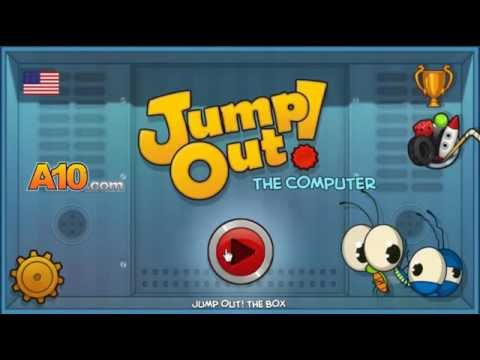 Jump Out! The Computer -- Level 1 [Normal mode] Walkthrough