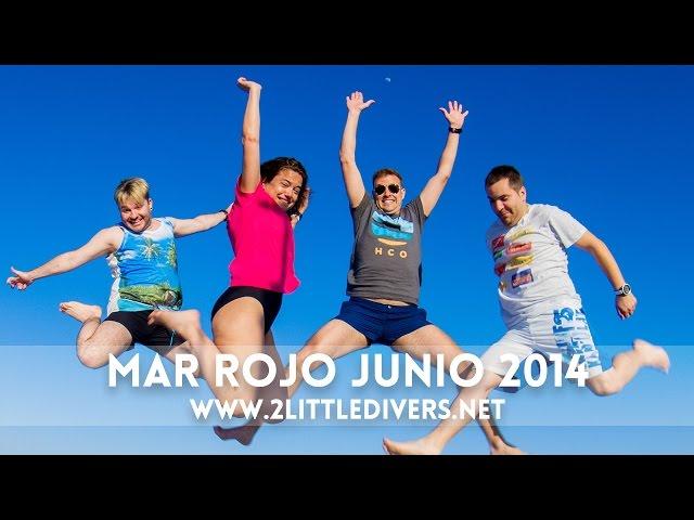 2 Little Divers | Mar Rojo Junio 2014