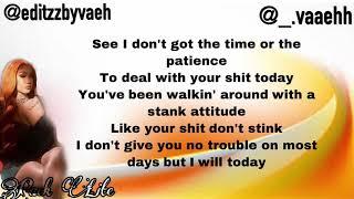 "Queen Naija ""Pack Lite"" (Lyrics)"