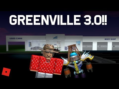 GREENVILLE 3.0 UPDATE!!! || ROBLOX - Greenville