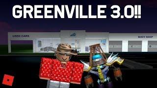 GREENVILLE 3.0 UPDATE!!!    ROBLOX - Greenville