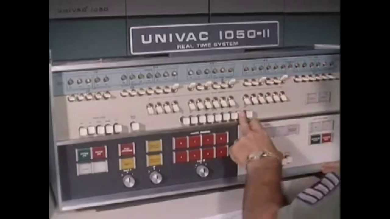 1960 UNIVAC 1050-II Computer History Archives -Air Force ...