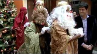 Los Reyes Magos visitan el Ayuntamiento de Santiago del Teide