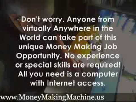 Free Legitimate WORK AT HOME Job No Fees  .......  http://6.PleaseView.net