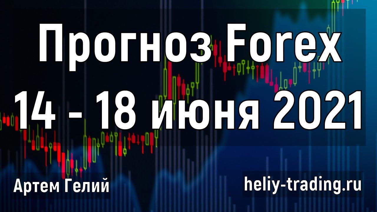 Прогноз форекс, акций и криптовалют на неделю: 14 - 18 июня 2021