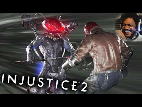 BLACK MANTA IS CRAZY!! | Injustice 2 #11 (NEW DLC CHARACTER)