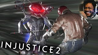 BLACK MANTA IS CRAZY!! | Injustice 2 #11 (NEW DLC CHARACTER)