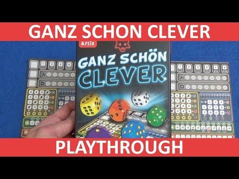 Ganz Schön Clever - Playthrough - slickerdrips