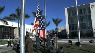 U.S. Southern Command raised the flag above new headquarters for first time