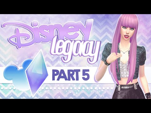 Let's Play The Sims 4: Disney Legacy | Part 5 - Search The World