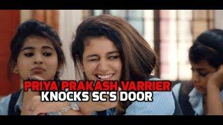 Valentine Girl Priya Prakash Varrier reaches SC appealing to quash FIRs against her