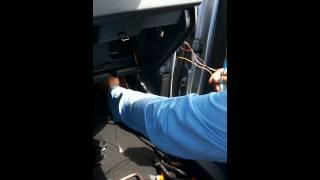 Ford ka 2015 instalação de alarme keyless positron