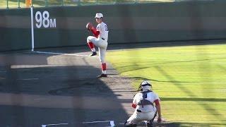 2016 高校野球 秋季大会 智弁和歌山 平田龍輝君の投球