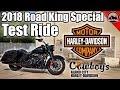 2018 Harley-Davidson Road King Special Test Ride