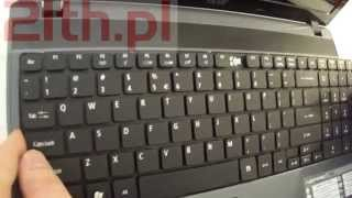 how to replace or remove keyboard in ACER Aspire 5733