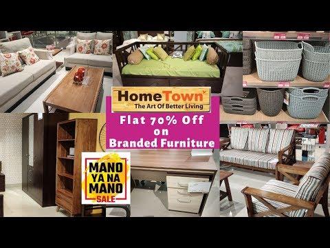 Home town Flat 70% OFF on Branded Furniture & Organisers || Mano ya na Mano Sale- Republic Sale ||