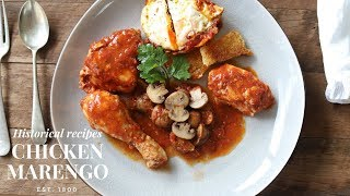 Chicken Marengo: recipe for Napoleon (created on the battlefield)
