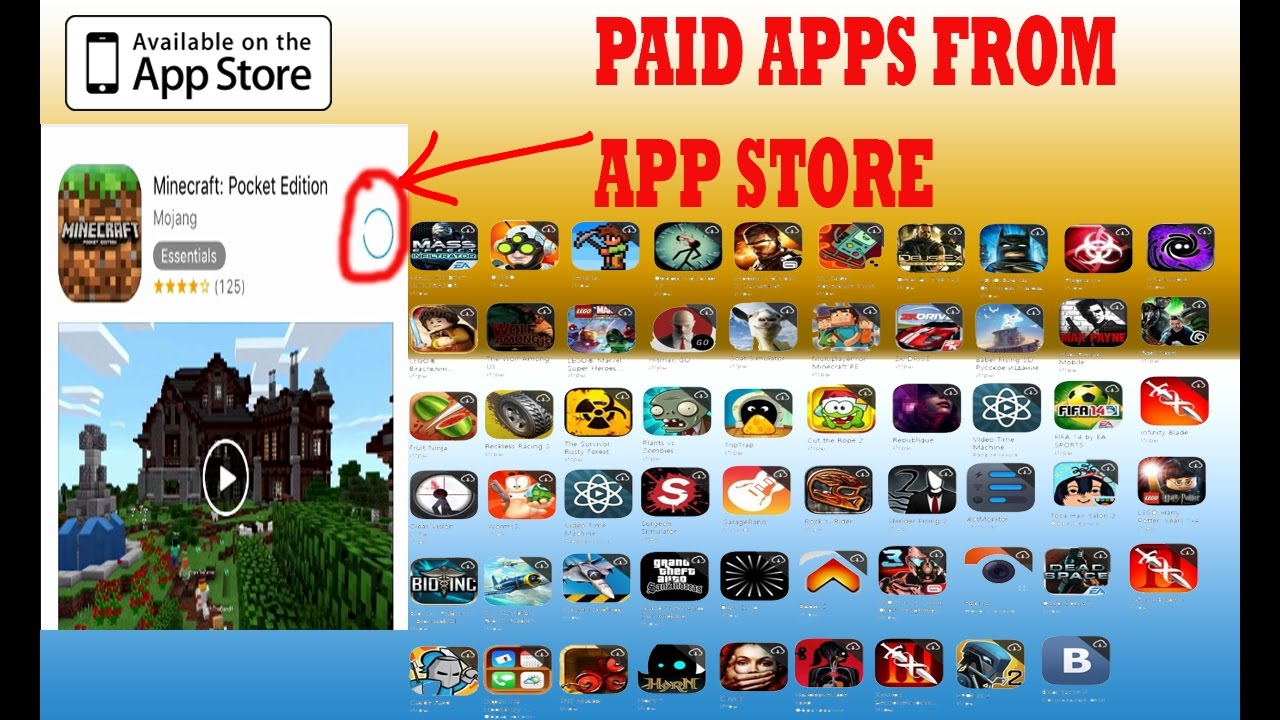 Download All Paid Apps Games For Free From App Store