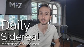 Daily Sidereal Astrology Horoscope: Thursday October 8th 2015